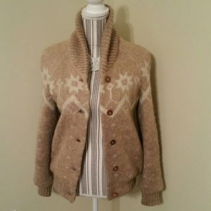 GUC Womens Hilda LTD Printed 100% Wool Jacket/Coat
