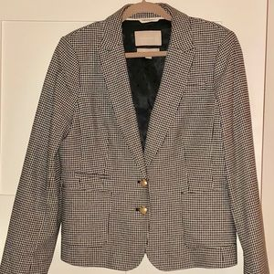 Banana Republic Houndstooth Blazer