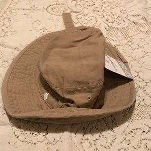 Carter's 12-24 Months Turtle Bucket Hat Tan