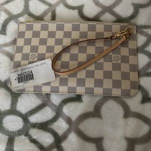 💯Authentic Damier Azur pouch
