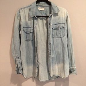 Madewell Soft, Two-tone Jean Buttonup