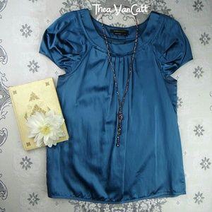 BCBG MAX AZRIA - Lovely Silk & Cotton Blouse! <3
