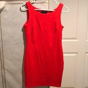 BEBE little red dress SZ XS