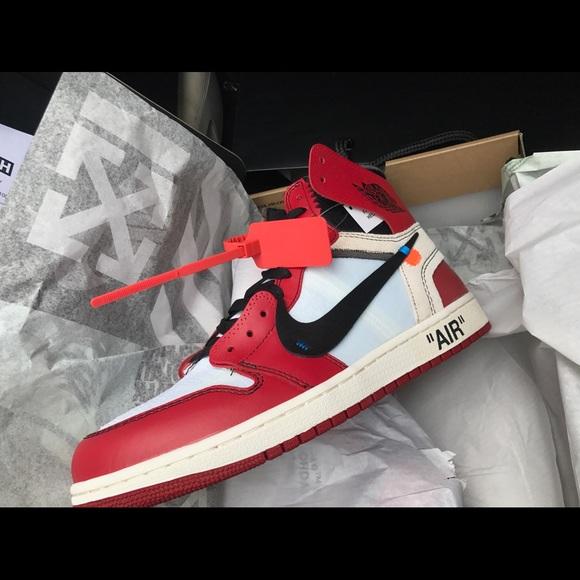 Air Jordan Shoes Offwhite X 1 Retro High Og Poshmark
