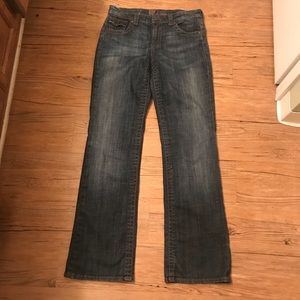 7 For All Mankind Mia Bootcut Jeans Size 28