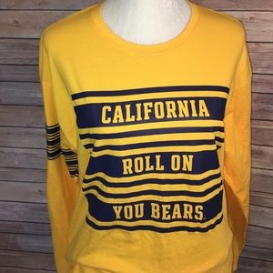 Pink Victoria's Secret Berkley Cali bears shirt