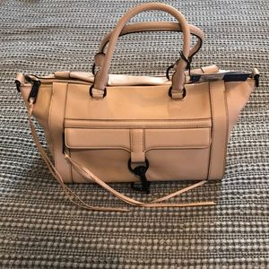 Rebecca Minkoff Bowery Satchel Tote in Latte