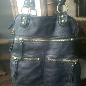 Black Leather Dylan bag