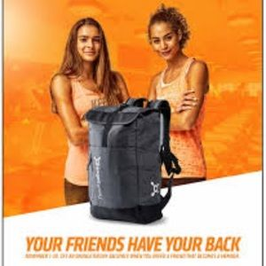 OT black backpack NWT