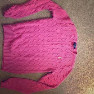 Pink Classic Ralph Lauren Sweater!