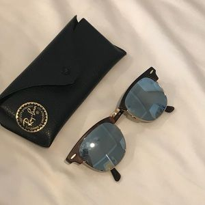 Ray Ban Mirrored Club Masters