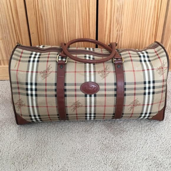 cd634f0b8317 Burberry Handbags - Burberry Novacheck Weekender bag