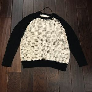 Zara Open Knit Sweater