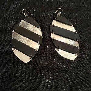 🖤Wooden & Metal🖤 Fashion Earrings
