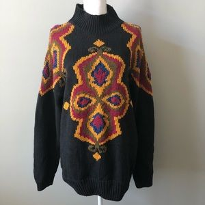 Adrianna papell sweater size large black
