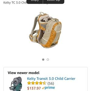 a4675ae5a1f kelty Other - KELTY TC 3.0 child carrier backpack