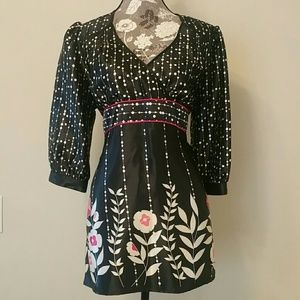 Beautiful Blouse Sz L