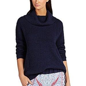 BCBGMAXAZRIA Sandrah Oversized Cowl Neck Sweater