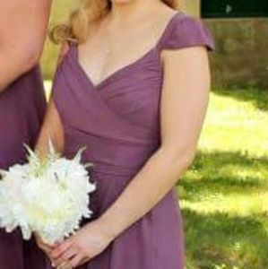 Jim hjelm bridesmaid dress purple size 8