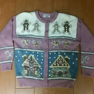Jingle Bells Christmas Sweater with real bells