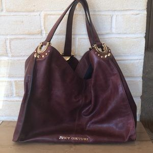 Juicy Couture Distressed Leather Handbag