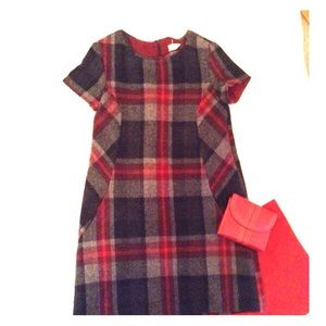 Zara Plaid wool Dress