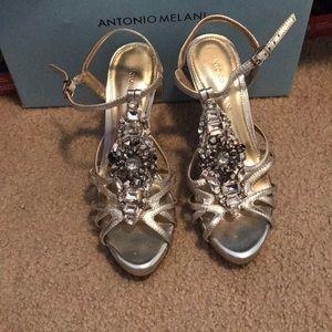 Antonio Melani Bedazzled Heels