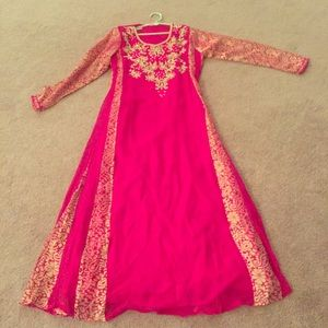 Middle eastern style dress