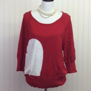 Lane Bryant Heart Sweater