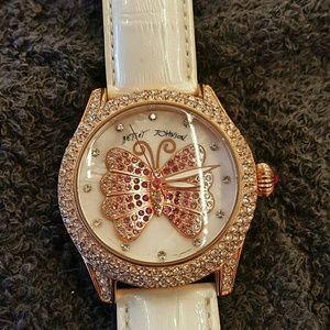 Betsy johnson butterfly watch