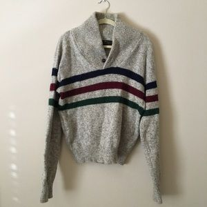 vtg made in USA Eddie Bauer pullover + woman's L