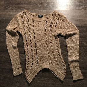 Bebe Sequin Sweater