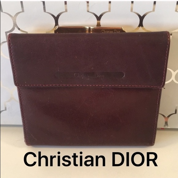 Christian Dior Handbags - ⭐️CHRISTIAN DIOR VINTAGE WALLET 💯AUTHENTIC aa020dcbea9cc