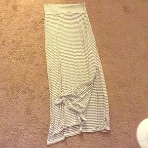 Charlotte Russe maxi skirt swimsuit cover up