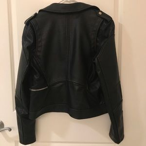 Never worn leather jacket from Nordstrom