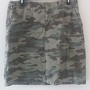 Old Navy Camouflage Skirt