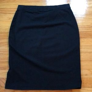 Black bodycon skirt from Old navy size m