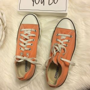 Converse all-star melon color sneaker size M6/W8