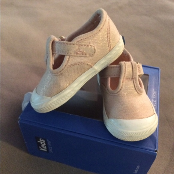 d1ff079541b0 Keds Other - Keds baby girl champion t-strap sneaker sz3