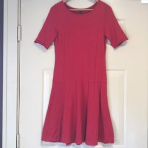 Ann Taylor Red Christmas Dress