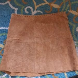Forever 21 Suede Skirt- perfect for fall