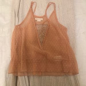 Urban Outfitters Blush Tank