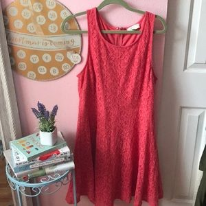 Pink Flowy Dress Forever 21