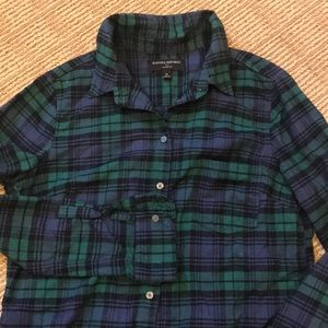 Banana Republic Flannel Button Down Shirt