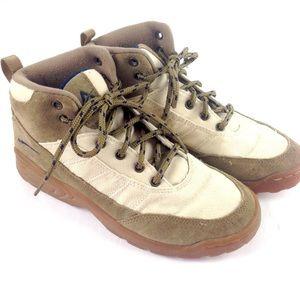Vtg 90s LA Gear brown Sneaker boots shoes leather