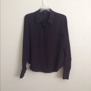 Silk BR botton down shirt NWOT