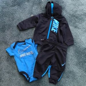 0-6 month Nike baby boy infant boy outfit jet