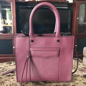 Rebecca Minkoff wine/burgundy mini MAB handbag
