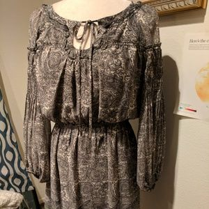 Women tunic top geometric dress