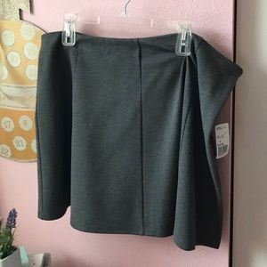 Heather Grey Skirt Plus Size Forever 21